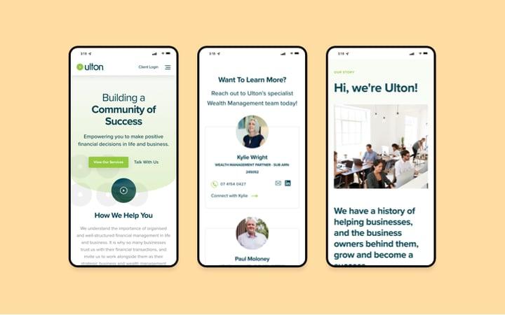 Ulton Financial Mobile Responsive Website-1