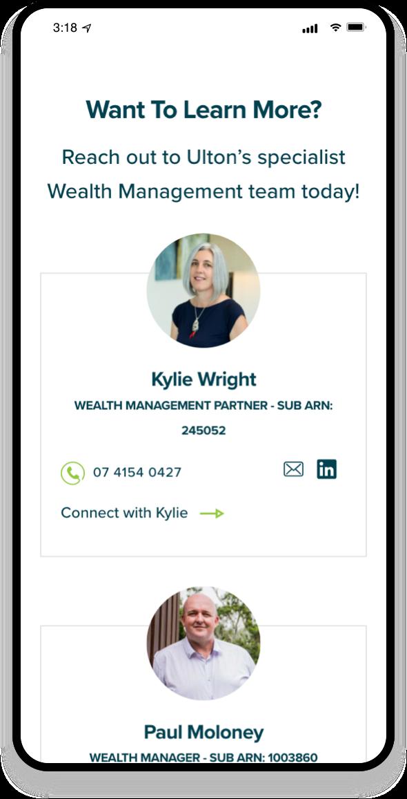 Ulton Financial Mobile-first 1