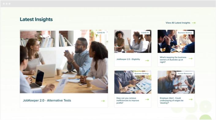 Ulton Financial Website Designs Panel5