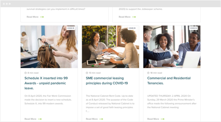 Ulton Financial Website Designs Panel9